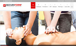 Site vitrine securiform.fr